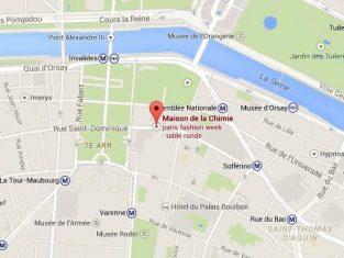 Map-Maison de la Chimie